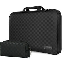 Laptop Case Sleeve Memory Foam Bag Checkered Black for New  MacBook Air 11
