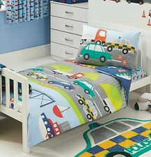 Transport toddler duvet set..toddler size beep beep.new
