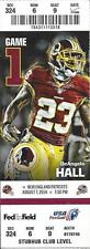 2014 NFL NEW ENGLAND PATRIOTS @ WASHINGTON REDSKINS FULL UNUSED FOOTBALL TICKET