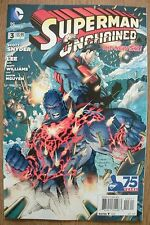 SUPERMAN - Unchained - The New 52  #3 - DC COMICS . FREE UK P+P ................