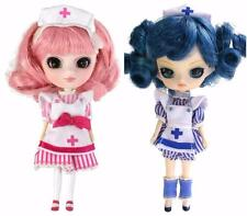 Little Pullip Dal Mini Doll Lot 2 Bohso Candy Striper Pink Neiryo Nurse Blue NIB