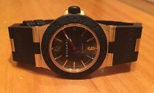 Bvlgari Diagono 18k Gold Black Titanium Automatic Watch