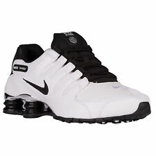 Nike Shox NZ Premium White / Chrome / Black UK9 / EU44 Exclusive USA Import
