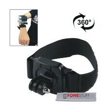 GoPro 360 Degree Adjustable Wrist Strap Mount for Session HERO 4/3+/3/2/1