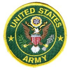 UNITED STATES ARMY BIKER VEST PATCH - VET - MILITARY-RD