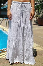 Long Maxi Skirt Gypsy Boho Summer Lightweight Handmade Two Tones