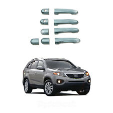 New Chrome Door Handle Catch Cover Molding Trim B804  for Kia sorento 2011-2013