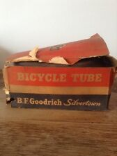 Vintage NOS B.F. Goodrich Silvertown 24 Inch Bicycle Tires Tube In Original Box