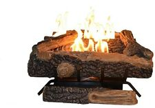 Emberglow Oakwood Vent Free Natural Gas Fireplace Log Set Winter Home Fire Place