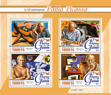 Guinea 2016 MNH Pablo Picasso 4v M/S Bullfight Corrida Art Paintings Stamps