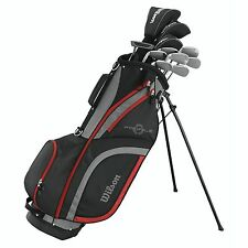 Wilson Profile XLS Men's RH Flex Graphite Steel Golf Club Stand Bag Package Set