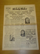 MELODY MAKER 1936 AUG 15 DAN DONOVAN SIDNEY KYTE JACK HYLTON BIG BAND SWING