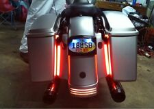 Red 9 LED Auxiliary Running Lights Bagger