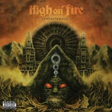 HIGH ON FIRE - LUMINIFEROUS  2 VINYL LP + CD NEU