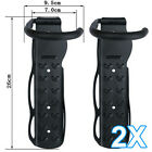 2 x Vertical Wall Mounted Mountable Cycle Storage Hook Bike Rack Stand Holder