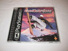 Cool Boarders 2001 (PlayStation PS1) Black Label Game Complete Excellent!