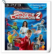 PS3 MOVE Sports Champion 2 SONY PlayStation Games SCE BACK ORDER