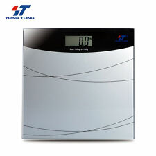 Digital LCD Body Bathroom Health Glass Electronic Weight Scale 180KG 396LB