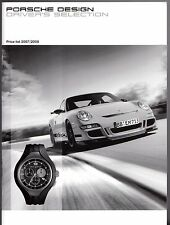 Porsche Design Driver's Selection Merchandise Prices 2007-08 UK Market Brochure