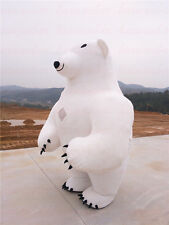 2017【TOP SALE】2.8m Inflatable Mascot Costume Inflatable Polar Bear 1.6-2.2m Gift
