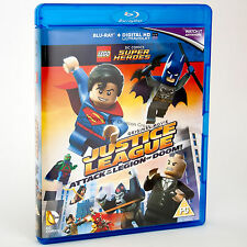 LEGO Justice League Attack of the Legion of Doom Blu-ray  - NEW (NO MINIFIG)