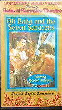 Ali Baba & the Seven Saracens (VHS) Super-rare 1963 sword&sandal-Gordon Mitchell