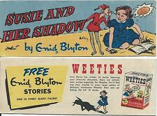 WEETIES AUSTRALIA CEREAL GIVEAWAY PROMO ENID BLYTON SUSIE & HER SHADOW MINI F+