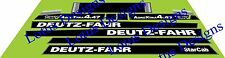 deutz fahr AgroXtra DX4.47 stickers / decals