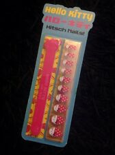 Brand New in Pack - Hello Kitty Kitsch Nails Set - Nail Wraps & File