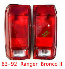 83 85 88 89 91 92 FORD RANGER & BRONCO II Tail Lights Set Left & Right Sides