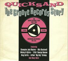 QUICKSAND 1954 - 1956 THE GROOVE RECORDS STORY - 2 CD BOX SET