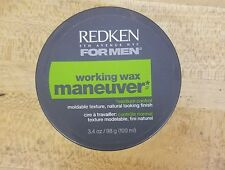 REDKEN FOR MEN WORKING WAX MANEUVER 3.4 oz