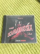 Prince The Scandalous Sex Suite RARE US CD Single