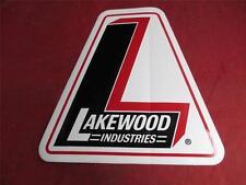 Lakewood Industries Sticker Decal 7 X 7 Vintage