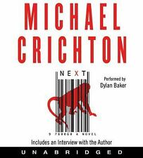Next by Michael Crichton 11 Audio CD Box Set   HarperCollins  2006 Sealed