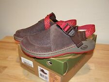 NEW 6.5 Chaco Womens Woodstock Shoes Vibram Gunnison Brown Clogs Leather Choc