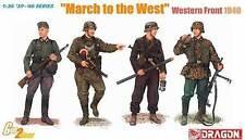 Dragon 1:35 6703: Cosa Alemán Soldados West Frontal 1940
