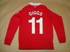 MANCHESTER UNITED HOME 2010-2011 #11 GIGGS M Football Shirt Soccer Maglia Camisa