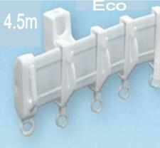 4.5 Eco Curtain Track Bendable Straight & Bay Window Curtain Track Rail