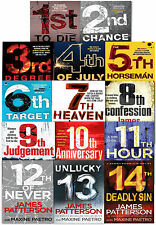 Womens Murder Club Collection James Patterson 14 Books Set 1st To Die 2nd Chance
