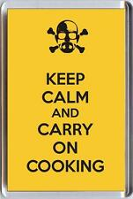 KEEP CALM and CARRY ON COOKING from Breaking Bad TV Series Unique Fridge Magnet