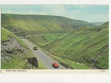Snake Pass Derbyshire Old Postcard 574a