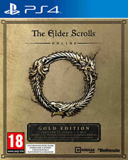 The Elder Scrolls Online Gold Edition PS4 Playstation 4 IT IMPORT BETHESDA