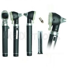 NEW  FIBER OPTIC Otoscope  Examination LED Diagnostic ENT SET Kit+1 FREE BULB