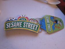 SESAME STREET BRAND NEW BELT BUCKLE NWT ELMO COOKIE MONSTER OSCAR THE GROUCH
