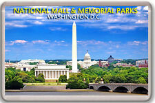 NATIONAL MALL & MEMORIAL PARKS WASHINGTON DC FRIDGE MAGNET IMAN NEVERA