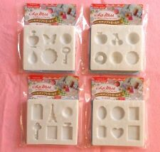 DAISO Japan Soft Mold 4type For Resin Or Clay From JAPAN