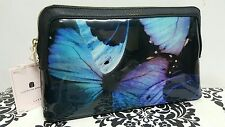 Ted Baker Genuine CENLORE Black Butterfly Collective Large Make Up wash Bag BNWT