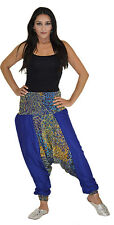 Hippie Moroccan Harem Gypsy Yoga Belly Dancing  Alibaba Pants Trousers One Size