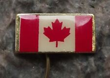 Dominion of Canada Maple Leaf National Canadian Flag Official Pin Badge